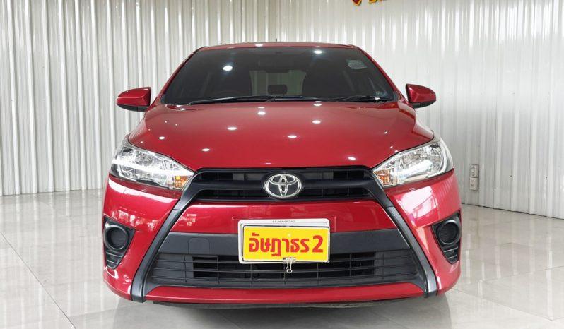 TOTOYA YARIS 1.2 J ปี 2016 เกียร์ AUTO full